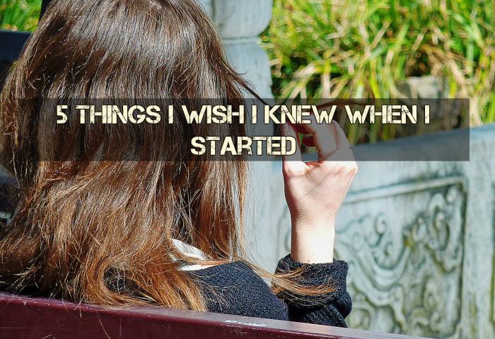 5 Things I Wish I knew when I got startedfreelancing