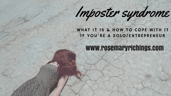 How to cope with imposter syndrome