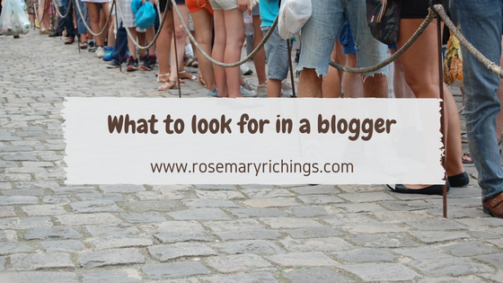Do you want to work with a blogger? Here's what to look out for.